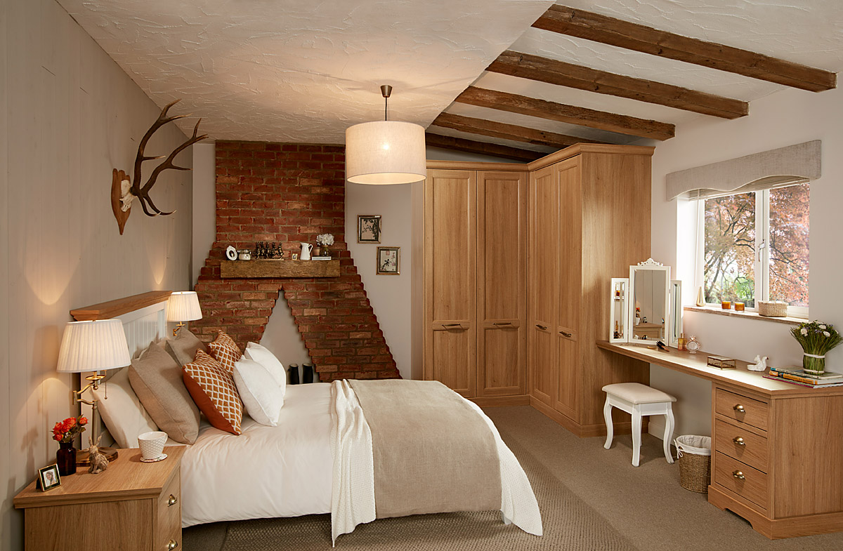 Chapter-Oak-Style-4-Cottage-17 Classic Bedroom Collection