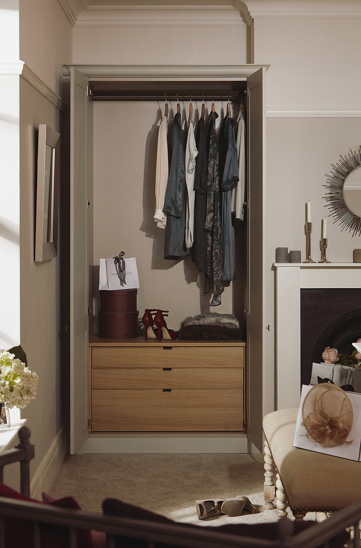 Chapter-Partridge-Grey-WITH-GRADE-6 Classic Bedroom Collection