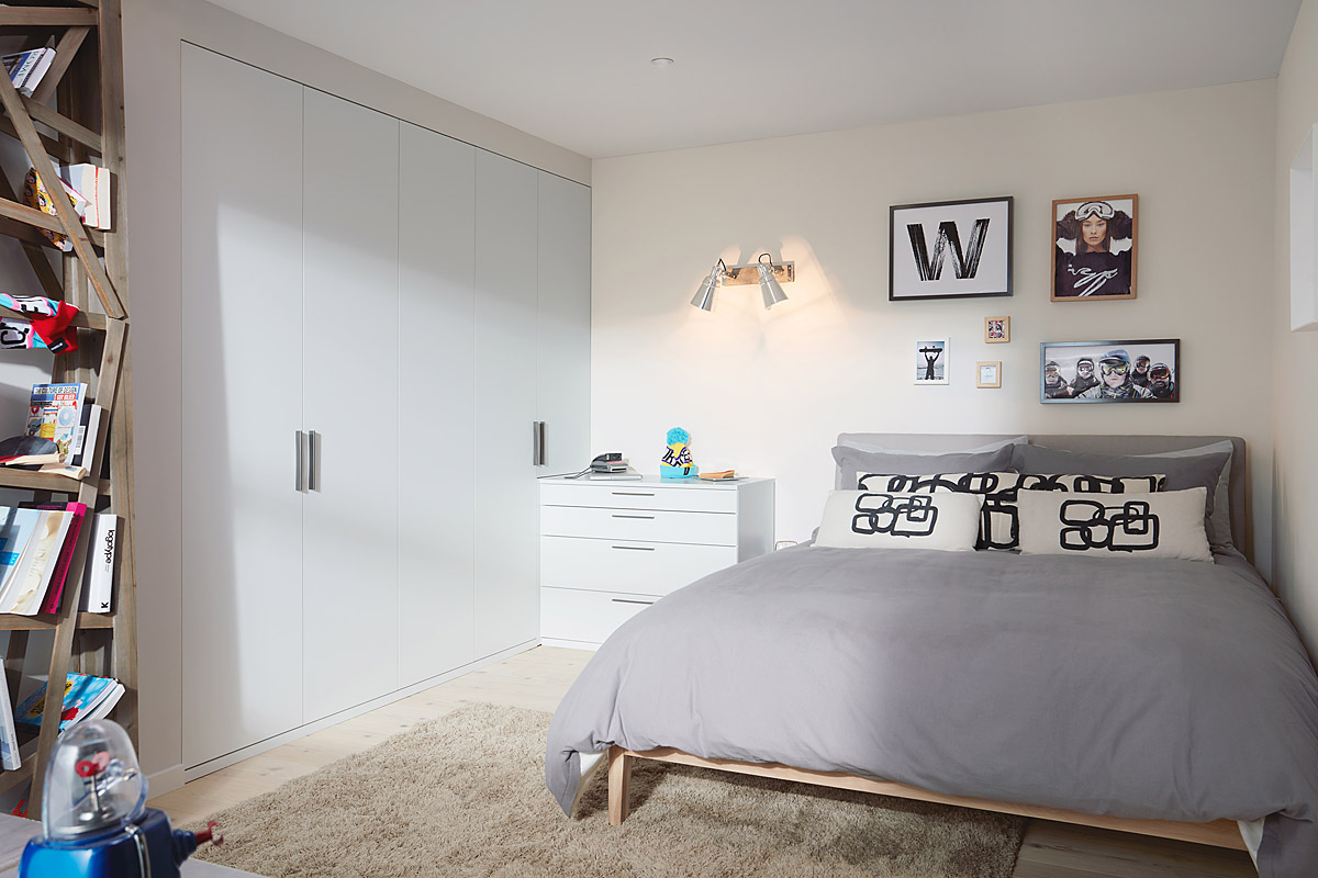 Parity-Matt-White-WITH-GRADE-4 Modern Bedroom Collection